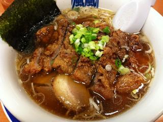 高円寺 風風ラーメン 醤油パーコー麺