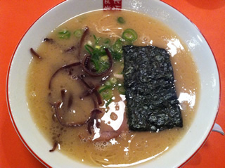中野 長浜食堂 ラーメン